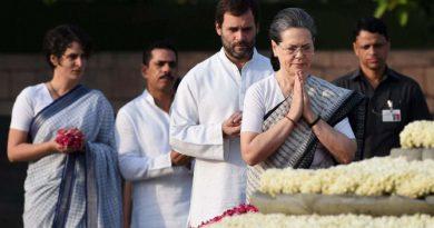 Rajiv Gandhi's 25th death anniversary
