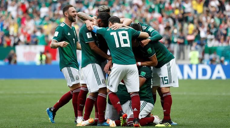 Mexico beat Germany 1-0