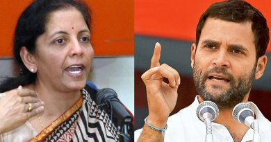Rahul-resigns-from-Defense-Minister-Nirmala-Sitharaman